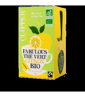 Fabulous Thé vert Citron Bio par 20