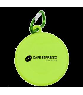 Gobelet dépliable café espresso shopping
