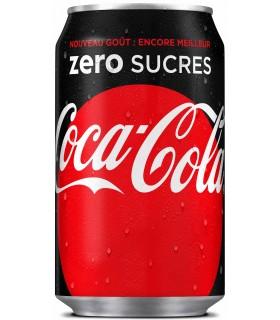 coca zero- boite 33cl