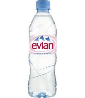 EAU Evian- pet 50cl