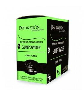 Thé Vert Gunpowder - Chine - 15x2g Destination Premium