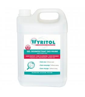 Bidon 5L - gel hydoalcoolique marque WYRITOL