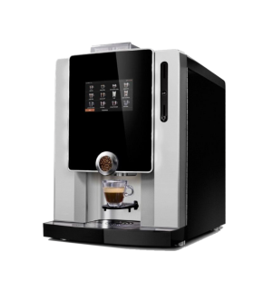 CORNER COFFEE machine tactile café grains et boissons gourmandes, latte, chocolats..