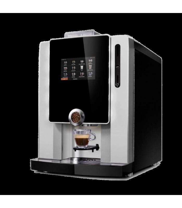 CORNER COFFEE machine tactile café grains et boissons gourmandes, latte, chocolats..